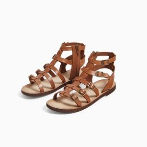 ZARA Kids gladiator sandals. NEW